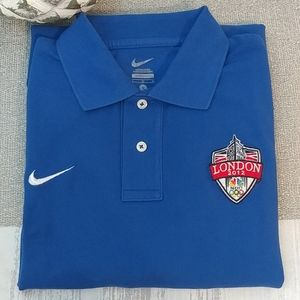 ✅Nike London Olympic 2012 Polo Shirt